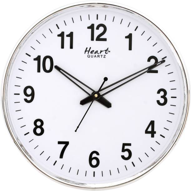 Heart Quartz Analog 32 cm X 32 cm Wall Clock