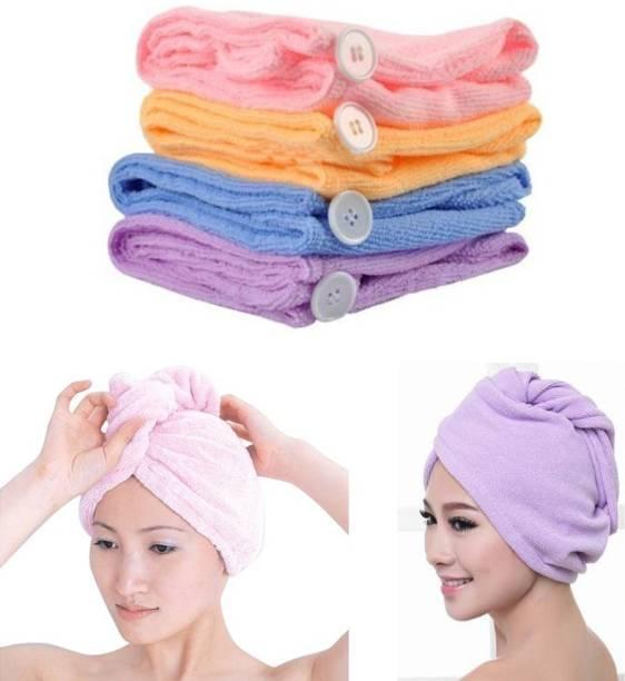 rivansh Cotton 475 GSM Hair Towel Set