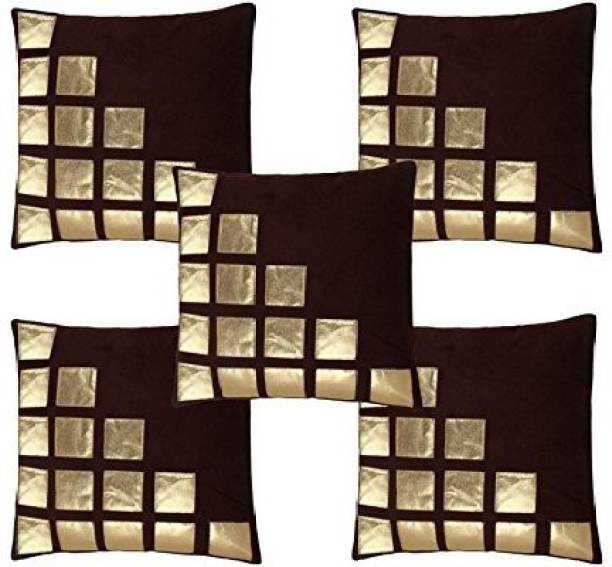 MS Enterprises Geometric Cushions Cover