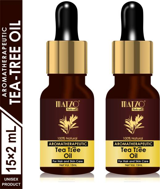 Matzo Natural Aromatherapeutic Australian Tea Tree Essential Oil (For Hair and Skin Care)