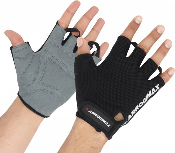 ArrowMax BEST IN CLASS ARMOUR-X SPORTS/FITNESS GLOVES WITH BREATHABLE Gym & Fitness Gloves