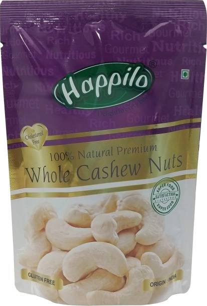 Happilo 100% Natural Premium Whole Nuts Cashews