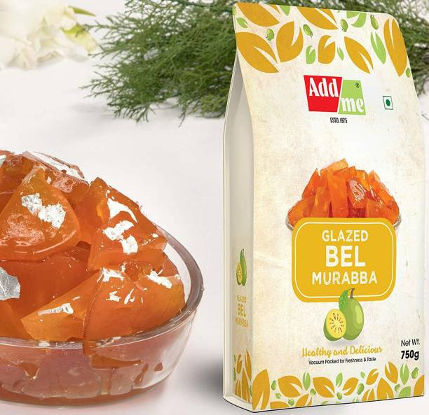 ADD ME Sweet Bel Murabba Pieces (Vaccum Packed Without Syrup) 750Gm Bel Murabba
