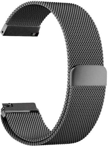 V-TAN Stainless Steel Mesh Milanese Loop Strap with Adjustable Magnetic Closure 22mm Band for Smsung Gaaxy Watch 46mm & Gear S3 / Frontier Classic,Amzfit, Moto 360 & Any Smart Watch with 22mm Lugs Smart Watch Strap