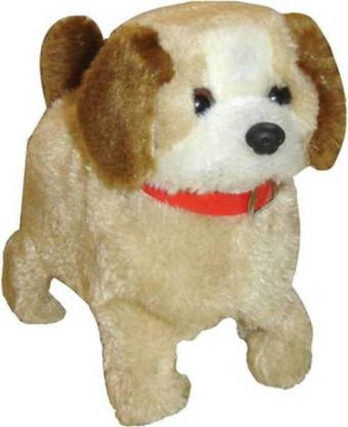 lifestylesection Musical Jumping dog for kids (Brown)