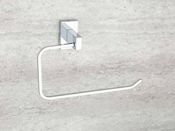 iSTAR Stainless steel 304 Napkin Ring/Towel Ring/Napkin Holder/Towel Hanger(Silver Chrome) Silver Towel Holder
