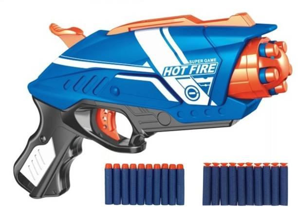 VJM Blaze Storm Soft Bullet Toy Gun (20 Soft Bullets) Hot Fire Guns & Darts