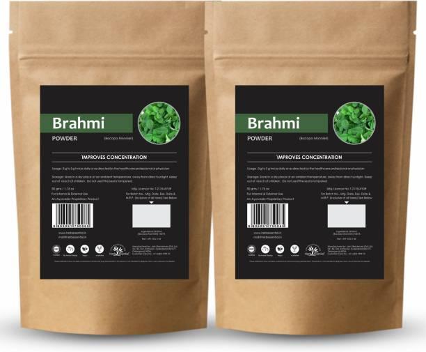 Herb Essential Pure Brahmi Powder 50g (Pack of 2)