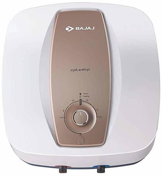 BAJAJ 15 L Storage Water Geyser (Calenta Mechanical, White, Gold)