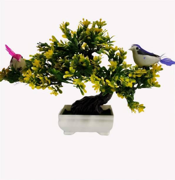 DecoratingLives Bonsai Wild Artificial Plant  with Pot