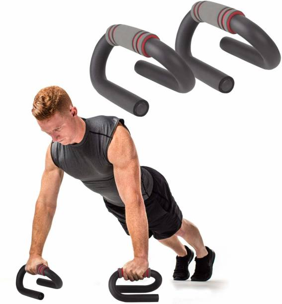 keekos PushUp Stand with Foam Grip Handle for Chest Press, Fitness Exercise Push-up Bar