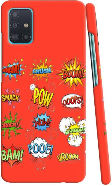 GIFT4EVER Back Cover for Samsung Galaxy A51
