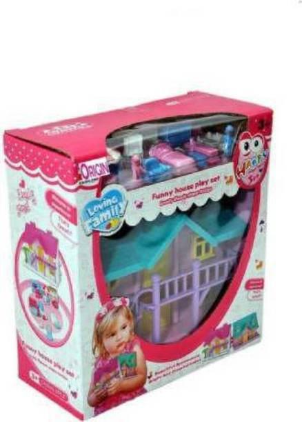 Tenmar Funny Doll House (Multicolor)