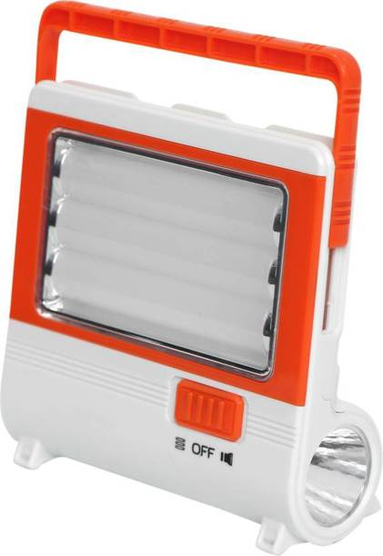 iDOLESHOP Ultra Bright 3 Tubes with 5W Side Torch Rechargeable Emergency Light Lantern Emergency Light