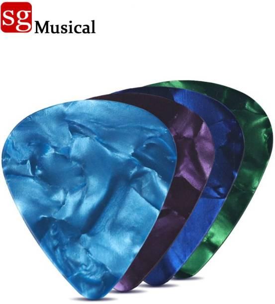 SG MUSICAL SGM-IU3 Guitar Multicolor Plectrum 0.711mm (pck of 4) Guitar Pick