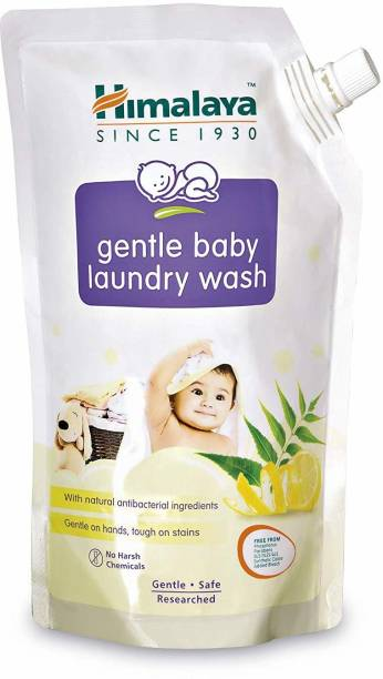 HIMALAYA Gentle Baby Laundry Wash 1 Ltr (Pouch) Liquid Detergent