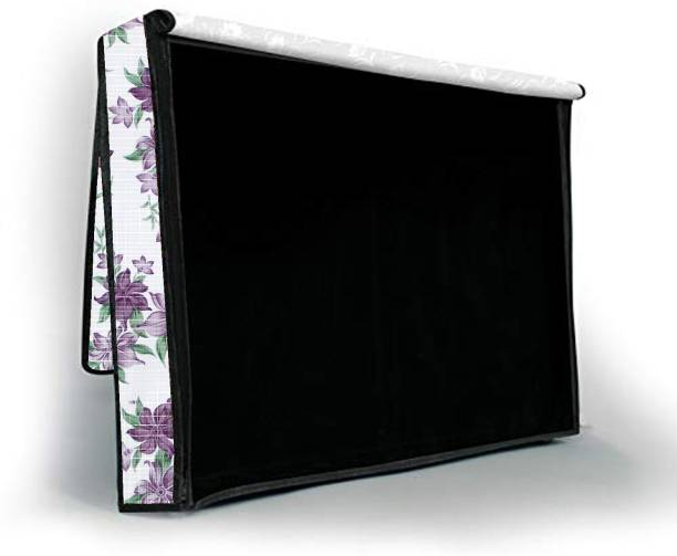 JM Homefurnishings Two layer dust proof LED LCD TV cover for 55 inch TV-LCD-LED-Monitor  - LEDJM1311255IN