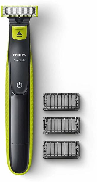 PHILIPS OneBlade QP2525/10  Runtime: 45 min Trimmer for Men