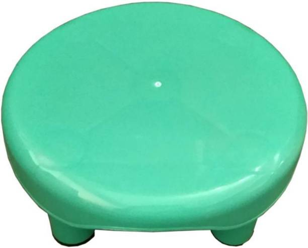 Swati BATHROOM GREEN ROUND STOOL Stool