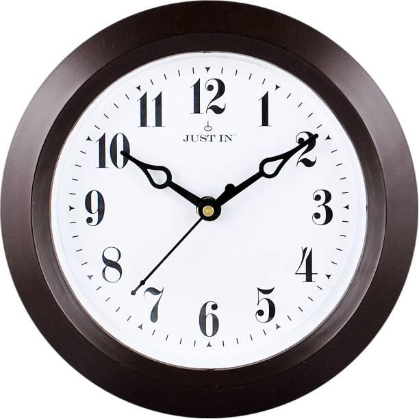 Justin Analog 18 cm X 18 cm Wall Clock