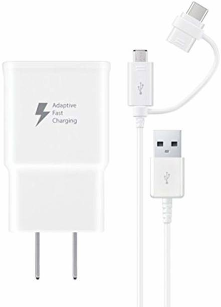 SAMSUNG EP-DG930DWBNDL Multiport Mobile Charger with Detachable Cable