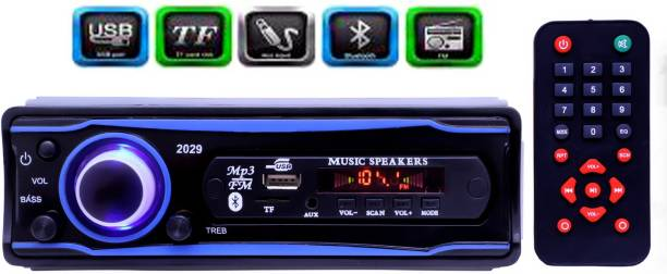 JBRIDERZ STEREO-999 BLUETOOTH/USB/SD/AUX/FM/MP3 (BLUE & Black) Car Stereo