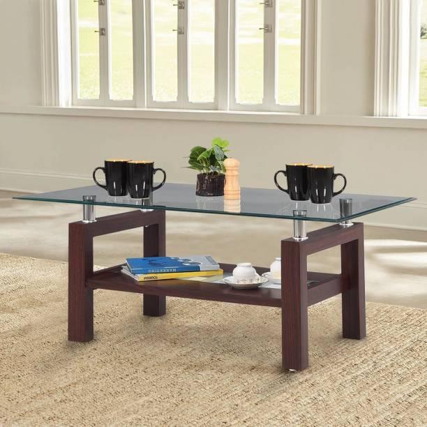 RoyalOak Glen Glass Coffee Table