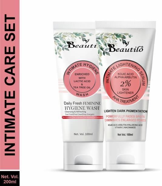 Beautilo Intimate Care Set (Intimate Lightening Serum & Intimate Hygiene Wash)
