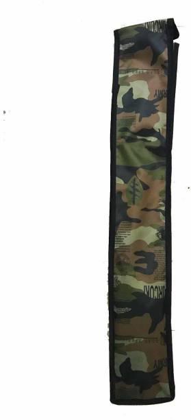 ZHOOSH Army Green Warrior Cricket Bat Cover Bat Cover Free Size
