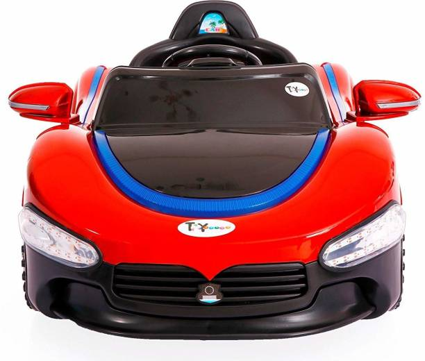 Ayaan Toys Ayaan toys Sports Rechargeable Battery Ride-on Car (Red) Car Battery Operated Ride On