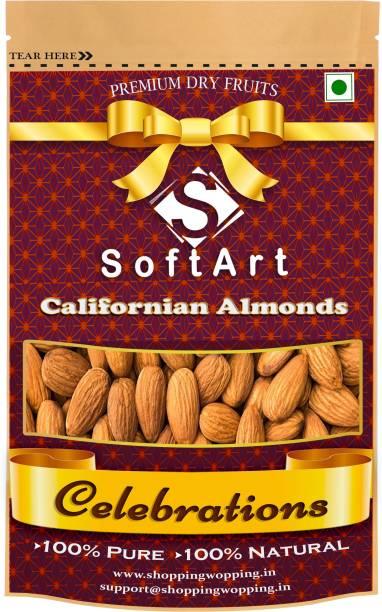 Soft Art Celebrations Californian Badam Vaccum Pack Almonds (100 grams) Almonds