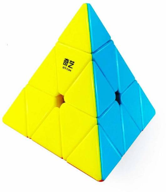 Tenderfeet Pyramid Cube 3x3 High Speed Stickerless Triangle Cube