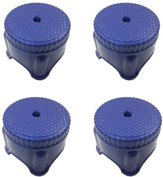 mastBus (Set of 4) Stool   Small Stool for Bathrooms  Stool for Kitchen   Panda Plastic Stools for Sitting in Bathroom (3 Months Warranty) Living & Bedroom Stool