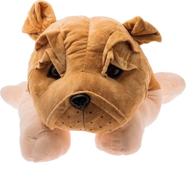 Dimpy Stuff Lying Bull Dog  - 65 cm