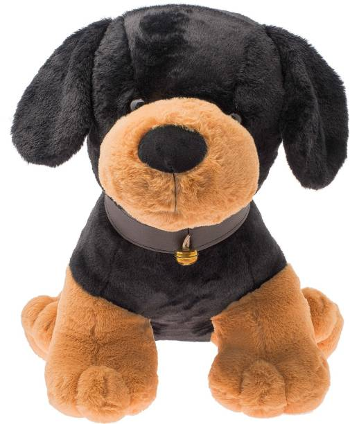 Dimpy Stuff Standing Dog with Bell  - 48 cm