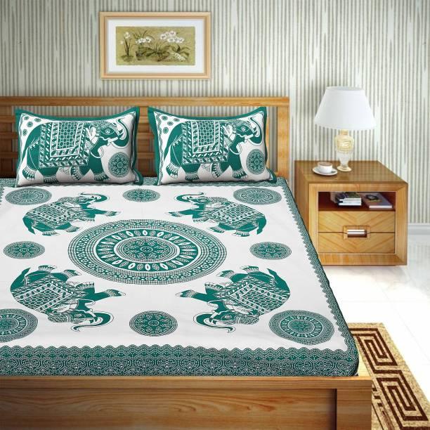 UNIQCHOICE 120 TC Cotton Double Animal Bedsheet