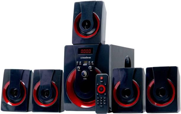 KRISONS Redblast 5.1 Bluetooth Home Theatre