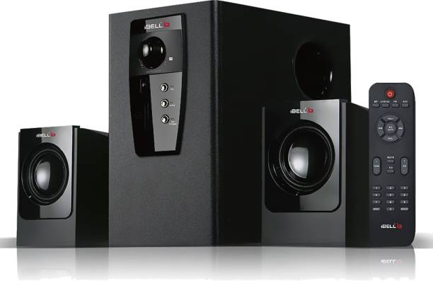 iBELL IBLE240BT 2.1 Channel Home Theatre Multimedia Speaker System. Home Theatre