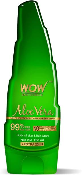WOW SKIN SCIENCE Skin Science Aloe Vera Multipurpose Beauty Gel For Skin And Hair extra 20 ml