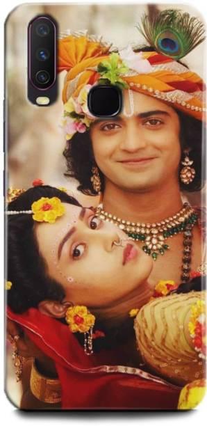 BARMANS Back Cover for Vivo Y15 / Radha Krishna, Radha and Krishna, Krishna, Radha, God