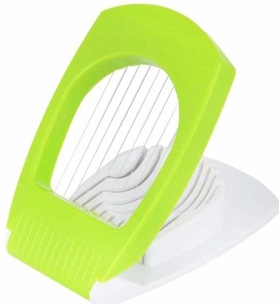 QuickCLap Egg Cutter/Slicer with Stainless Steel Wires Egg Slicer