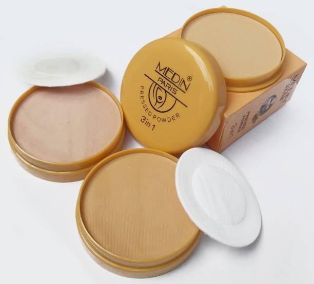 MEDIN matte finish Makeup Compact Powder Compact