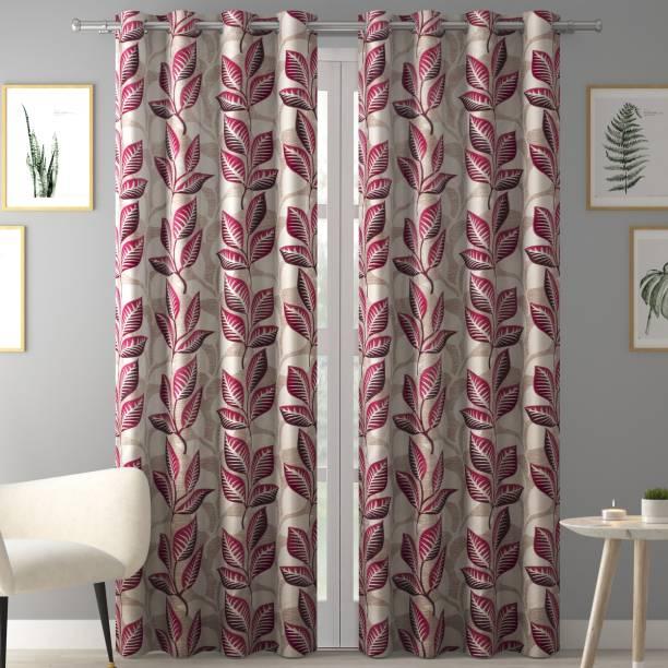 Flipkart SmartBuy 213 cm (7 ft) Polyester Door Curtain (Pack Of 2)