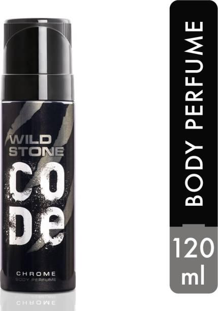 Wild Stone Code Chrome Perfume Body Spray  -  For Men