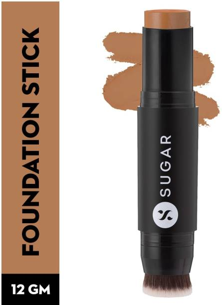 SUGAR Cosmetics Ace Of Face Foundation Stick with inbuilt brush Foundation