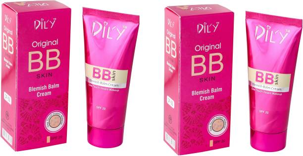 DIL'Y BB Blemish Balm Cream Foundation(Pink)pack of2 Foundation