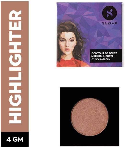 SUGAR Cosmetics Contour De Force Mini Highlighter 02 Gold Glory Highlighter