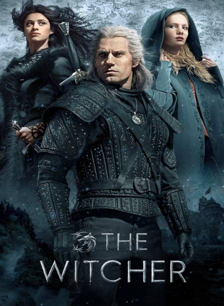 The Witcher (Episodes 8) in HD print it's burn data DVD play only in computer & Laptop it's not original without poster dual audio Hindi & English