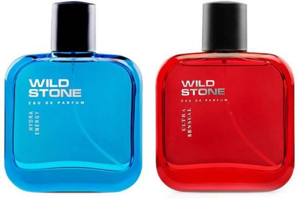 Wild Stone ULTRA SENSUAL PERFUME 50 ML+HYDRA ENERGY PERFUME 50 ML Eau de Parfum  -  50 ml