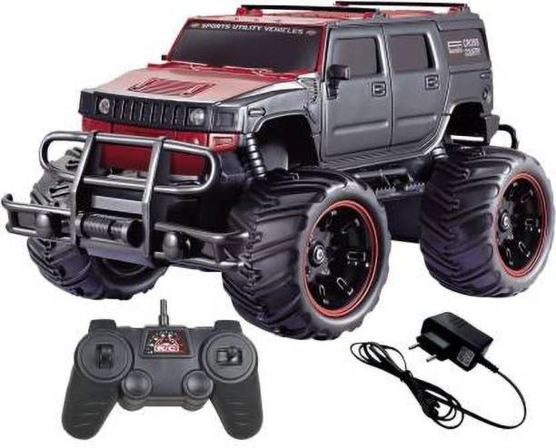 Kidz N Toys Big and Mean Rock Crawling 1:20 Scale Modified Off-Road Hummer RC Car/Monster Truck